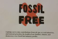 Mike Collier's Fossil-Fuel-Free Pledge